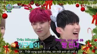 [VIETSUB][2WVN] SEVENTEEN 'Daentu-daentu' @ M!Countdown (tập đặc biệt mừng giáng sinh)