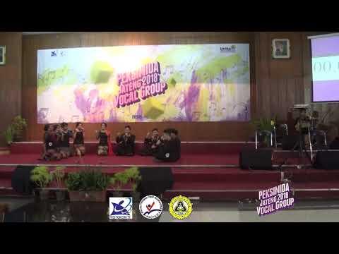 Juara 1 PEKSIMIDA  Jawa Tengah Tangkai Vocal Group 2018 - Lentera Kasih  - UKSW