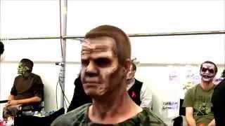 Wasteland Zombie Prosthetic Makeup Application - Stuart