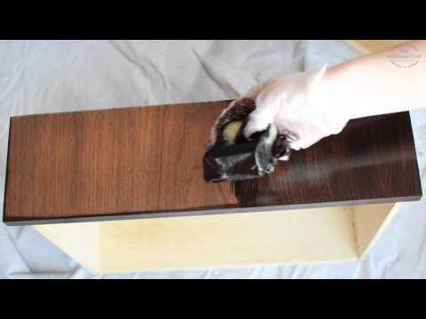 How to apply Gel Stain (staining without stripping)