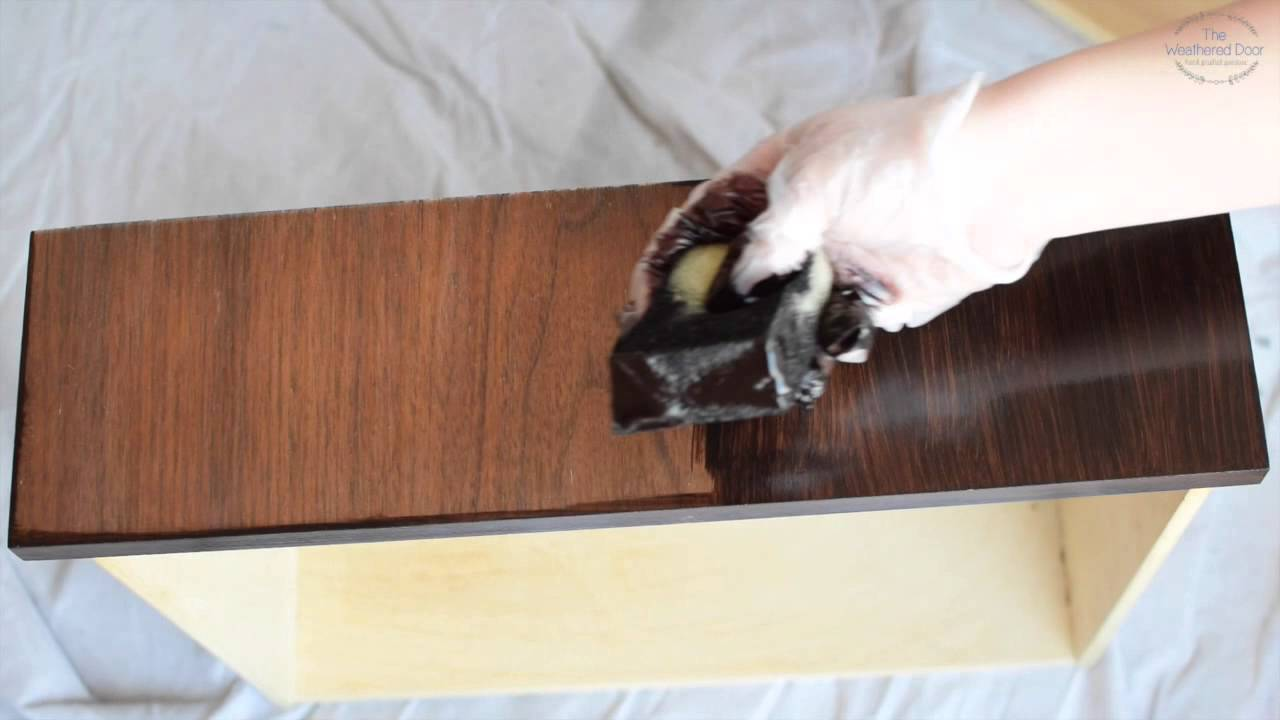 How to apply Gel Stain staining without stripping  YouTube