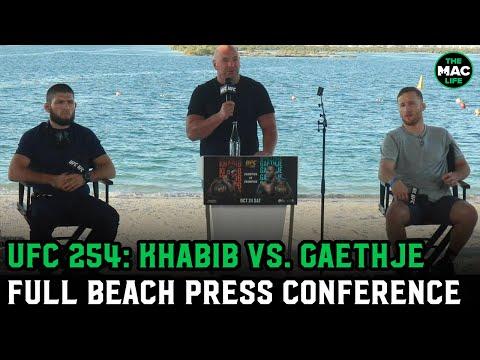 Khabib Nurmagomedov vs. Justin Gaethje | UFC 254 Pre-Fight Press Conference