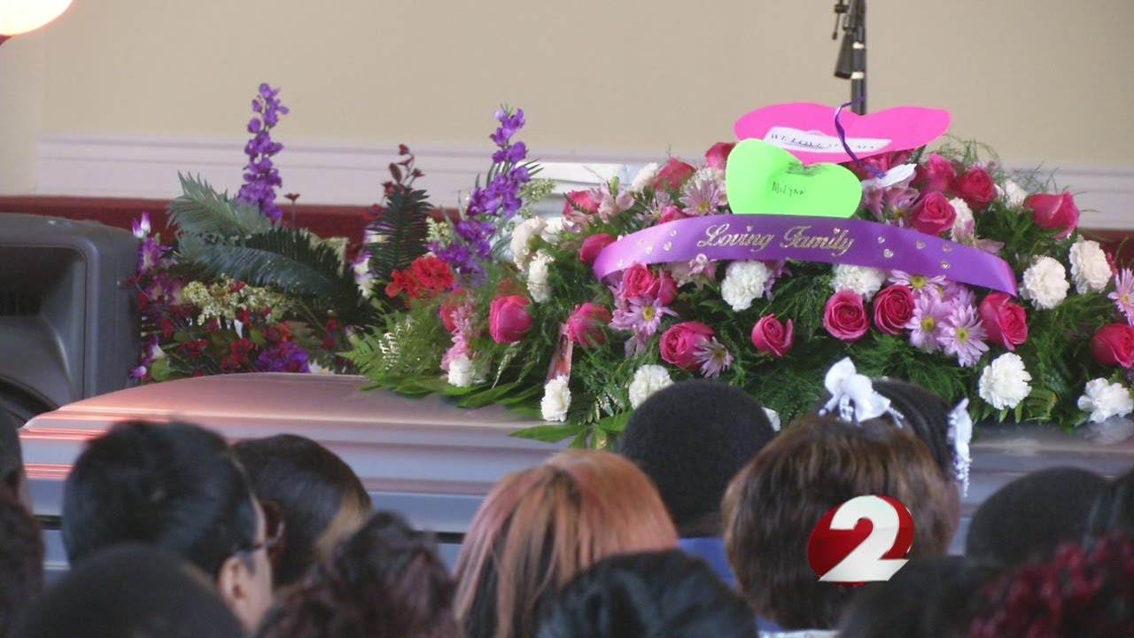 Funeral Service For Murdered Pregnant Woman Youtube