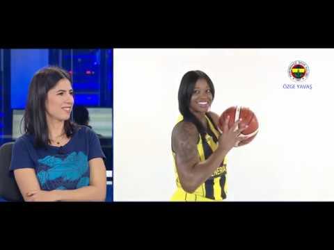 FENERBAHÇE Basketbol Antremanları Nasıl Geçiyor?  Özge Yavaş Anlattı !