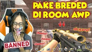 JADI CHEATER!! PAKE SENJATA BREDED DI ROOM AWP - Point Blank Indonesia