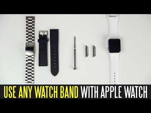 How To Use Any Watch Band With The Apple Watch
