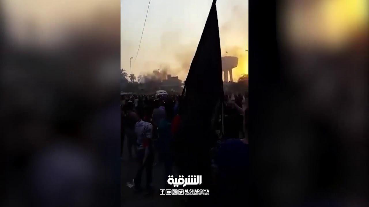مظاهرات بغداد عصر اليوم ساحة التحرير 4/10/2019