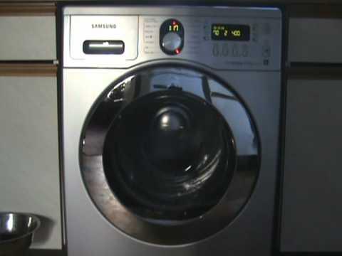 samsung ecobubble wf1804wpu eco drum clean 1 8 youtube. Black Bedroom Furniture Sets. Home Design Ideas