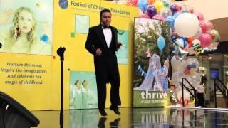 Kodi Lee Tap Dancing at the Festival of Children