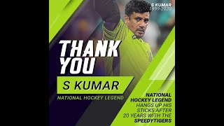 Thank you S Kumar, national hockey legend