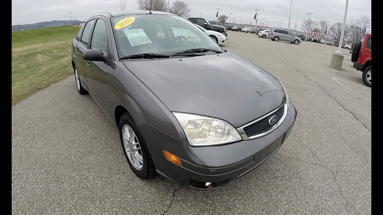 2007 ford focus se grey great gas mileage used cars martinsville in 17676a youtube. Black Bedroom Furniture Sets. Home Design Ideas