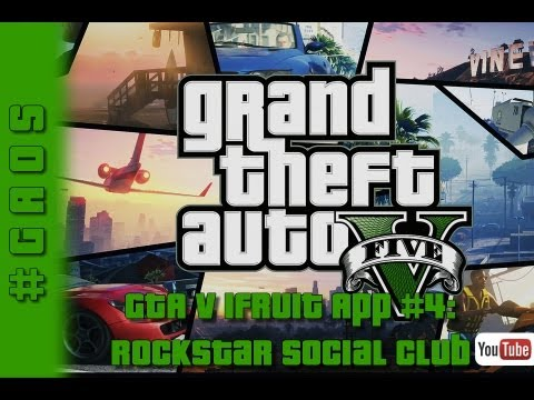Grand Theft Auto V - iFruit App #4: Social Club