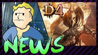 Diablo 4 oder doch nur mobile? & viel Ärger um Fallout 76 | NEWS.doc #41