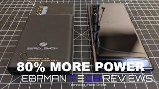 Get 80% More Battery ZeroLemon Battery Case  Samsung Galaxy Note 10 plusPlus | Get 80% More Battery