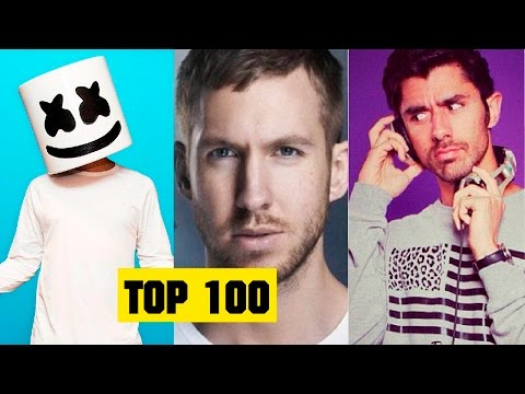 Musica Electronica Mas Escuchada del 2016 [Top 100]