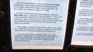 Walkway over the Hudson State Park Rack & Pinion Elevator by USA Hoist