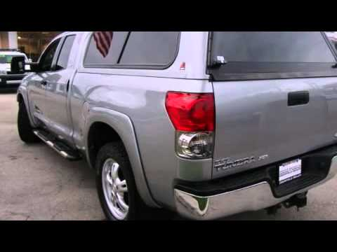 2007 Toyota Tundra Sr5 W Camper Shell Leather Youtube
