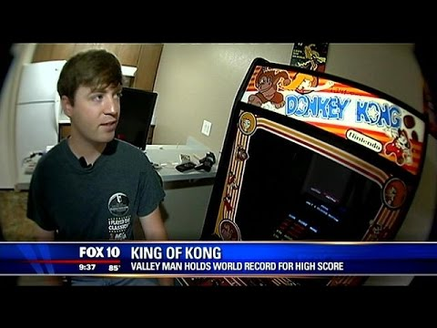 King of Kong: valley man holds world record for high ...