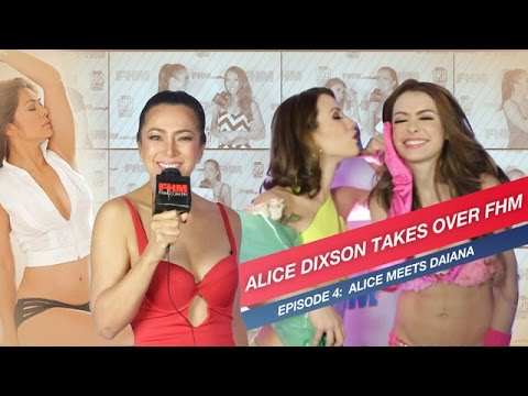 Alice Dixson Takes Over FHM, Asks Daiana Menezes About Her 'First Time'