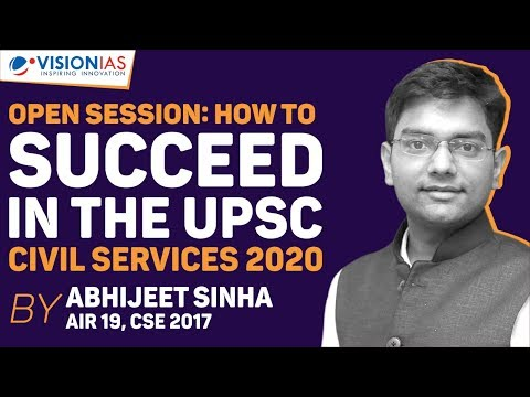 Abhijeet Sinha – My Experiments With UPSC ( IAS )