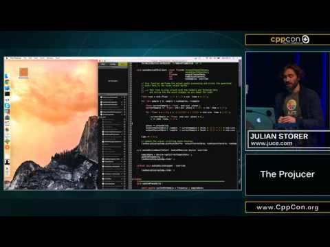 "CppCon 2015: Julian Storer ""The Projucer"""