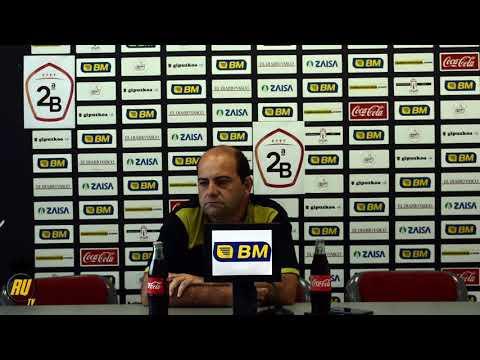 Alberto Iturralde ofrece la primera rueda de prensa