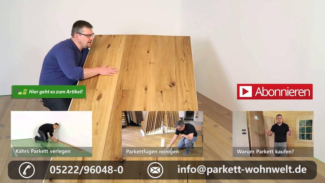 Kährs Parkett Eiche Artisan Camino - YouTube