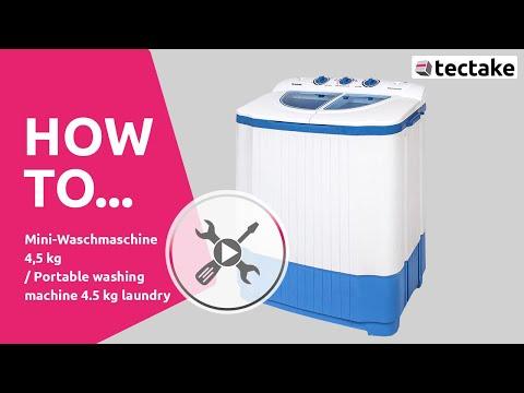 TecTake - Waschmaschine - Keilriehmen wechseln