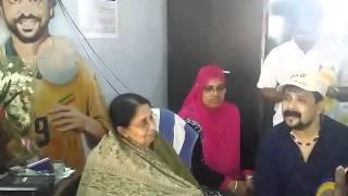 Ennu Ninte Moideen Fame Kanjanamala With Thajudheen | Nenjinullil Neeyaanu