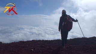 動画 ざ★富士山!! 富士山の5合目での車中泊や 富士登山まで 動画サムネイル