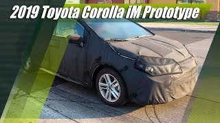 All-New 2019 Toyota Corolla IM Prototype