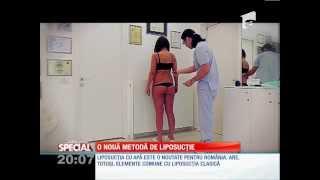 AQUALIPO - Lipoaspiratie cu jet de apa(Este cea mai fina metoda de lipoaspiratie in lume, procedura se efectueaza la cabinet, fara internare, doar cu anestezie locala. Poate fi insotita de modelarea ..., 2014-08-13T15:36:55.000Z)