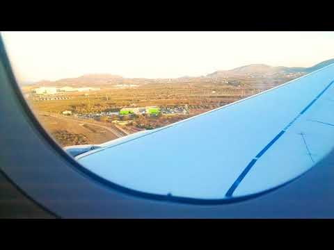 Lufthansa Airbus A321-200 Landing in Athens (ATH)