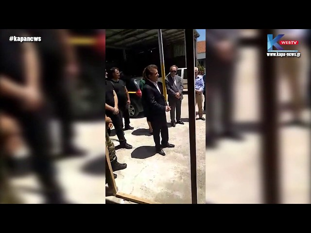 Kapa-News: Επίσκεψη του κ. Διονύση Πασχάλη στον Δήμο Δίου-Ολύμπου