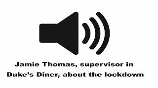 Student supervisor Jamie Thomas about the active shooter lockdown at SWOSU