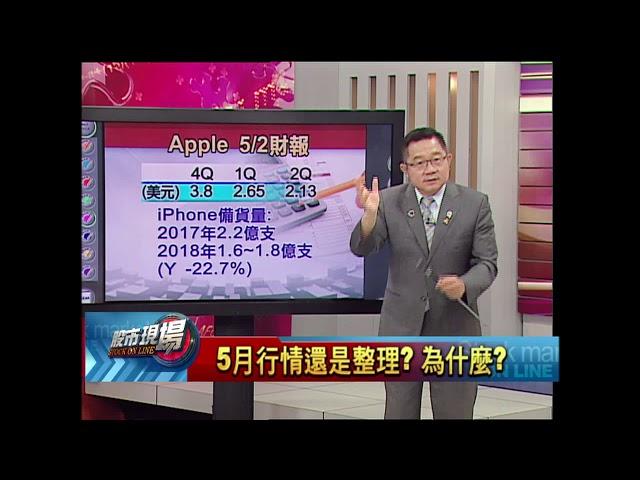 【股市現場-非凡商業台鄭明娟主持】20180430part.2(連乾文)