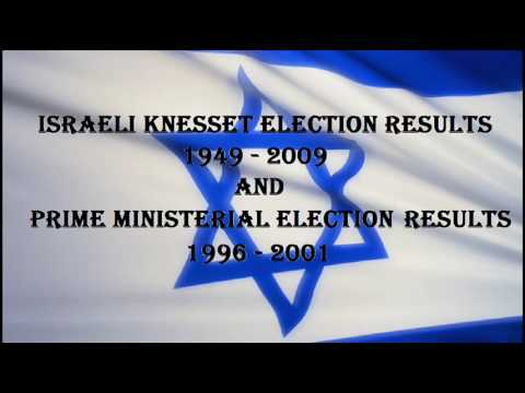 Israeli Knesset Elections, 1949 - 2009