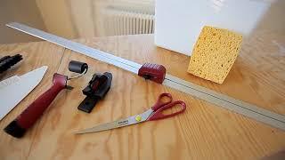 Профессиональный инструмент для оклейки обоев
