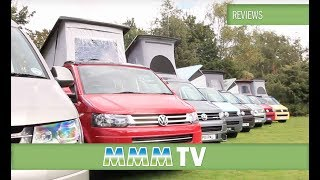 Comparing VW van conversions with Peter Vaughan