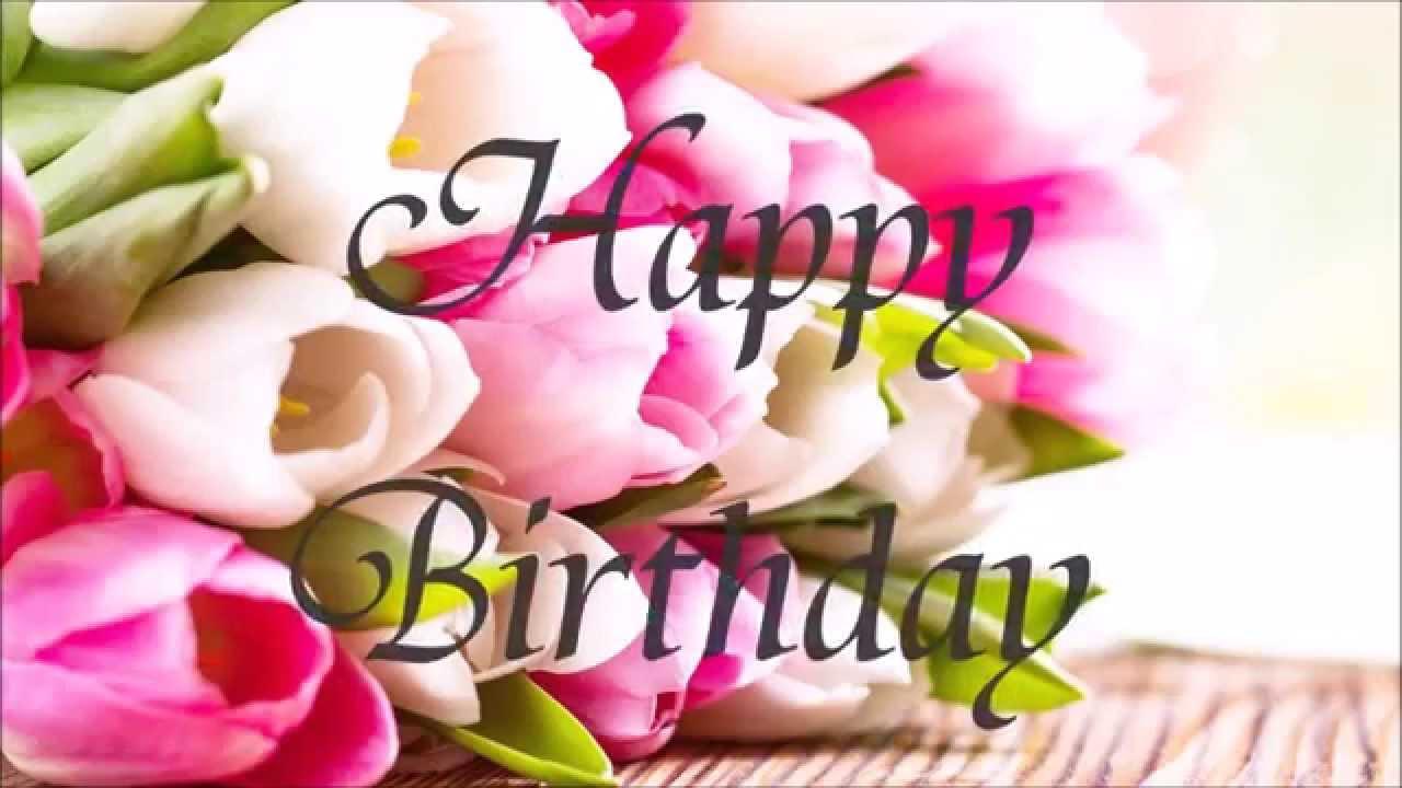 Happy Birthday 誕生花の花言葉で・・2月8日お誕生日おめでとう! Youtube