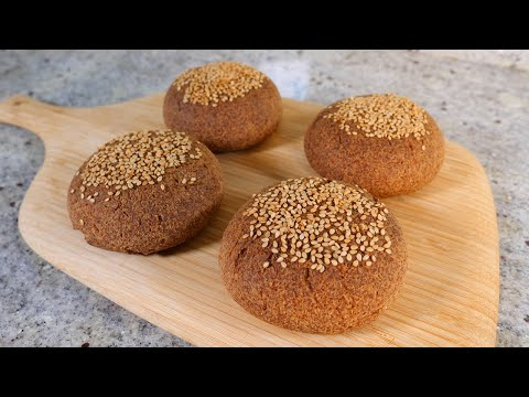 Keto vegan crusty bread - No yeast and GLUTEN FREE!