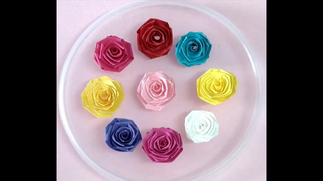 how to make rose quilling