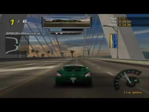 NFS: Hot Pursuit 2 Gameplay Walkthrough - Hot Pursuit General Motors Tropical Challenge [GCN]