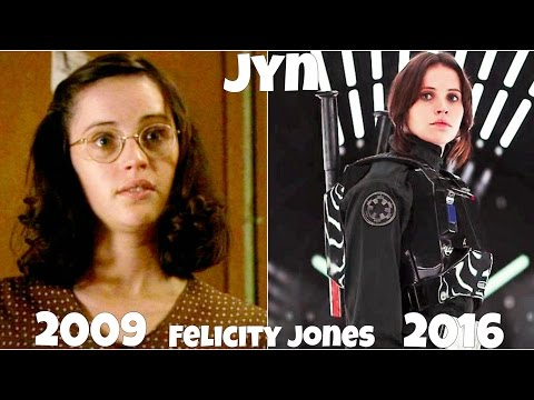 Rogue One A Star Wars Story Actors, Before and After they were famous