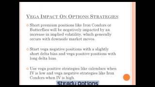 Options Trading Greeks: Vega For Volatility