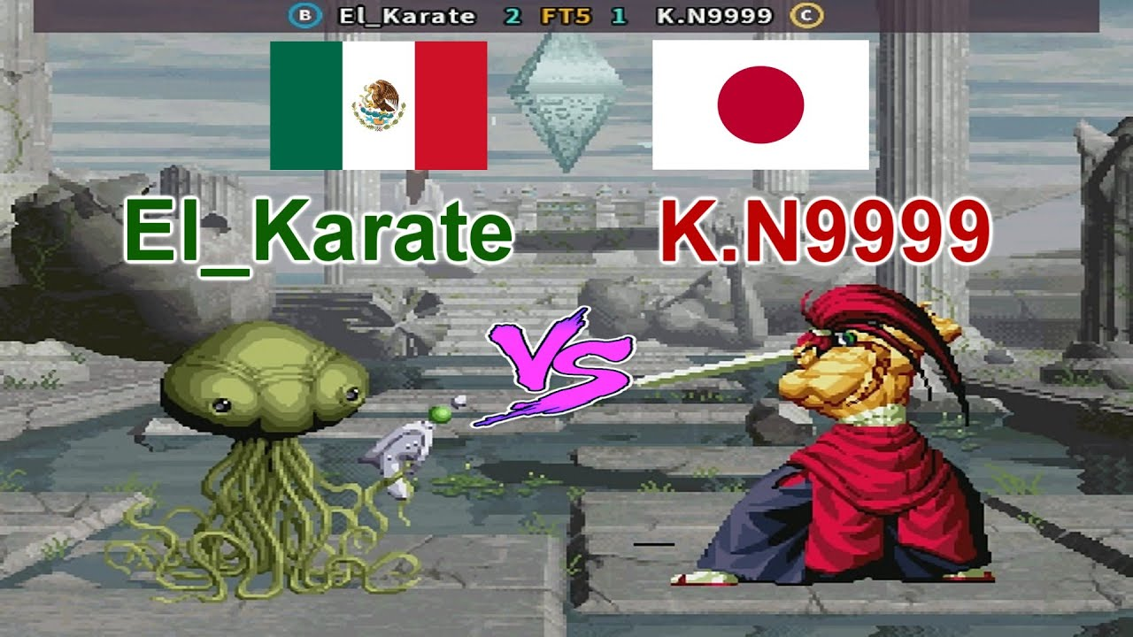 SNK vs. Capcom - SVC Chaos Super Plus - El_Karate vs K.N9999 FT5