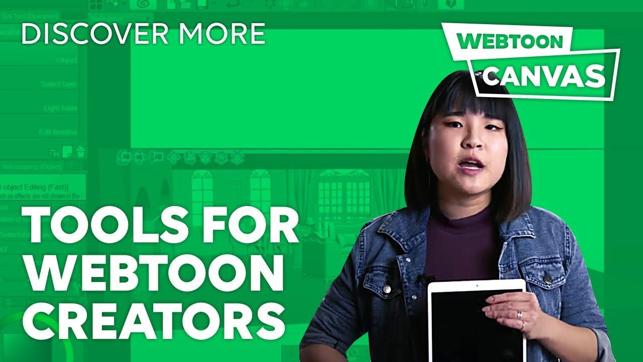 TOOLS FOR WEBTOON CREATORS • DiscoverMore