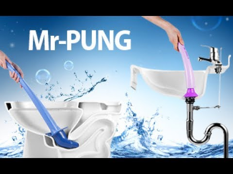 Mr PUNG | clearing toilets with compressed air