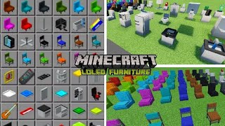 Furniture & Decorations MCPE - Minecraft Mod Competitors List