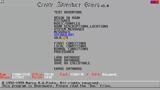 AMIGA CAG Erstellen Adventure Spiele v5 0 Durch Marco A G Pinto